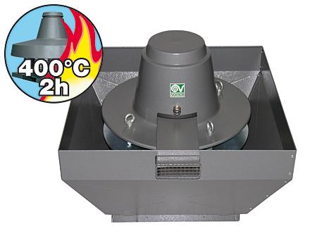 Brandgas-Dachventilator-Torrette-TR-ED-V-mit-vertikalem-Auslass