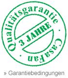 3 Jahre CasaFan Qualitätsgarantie